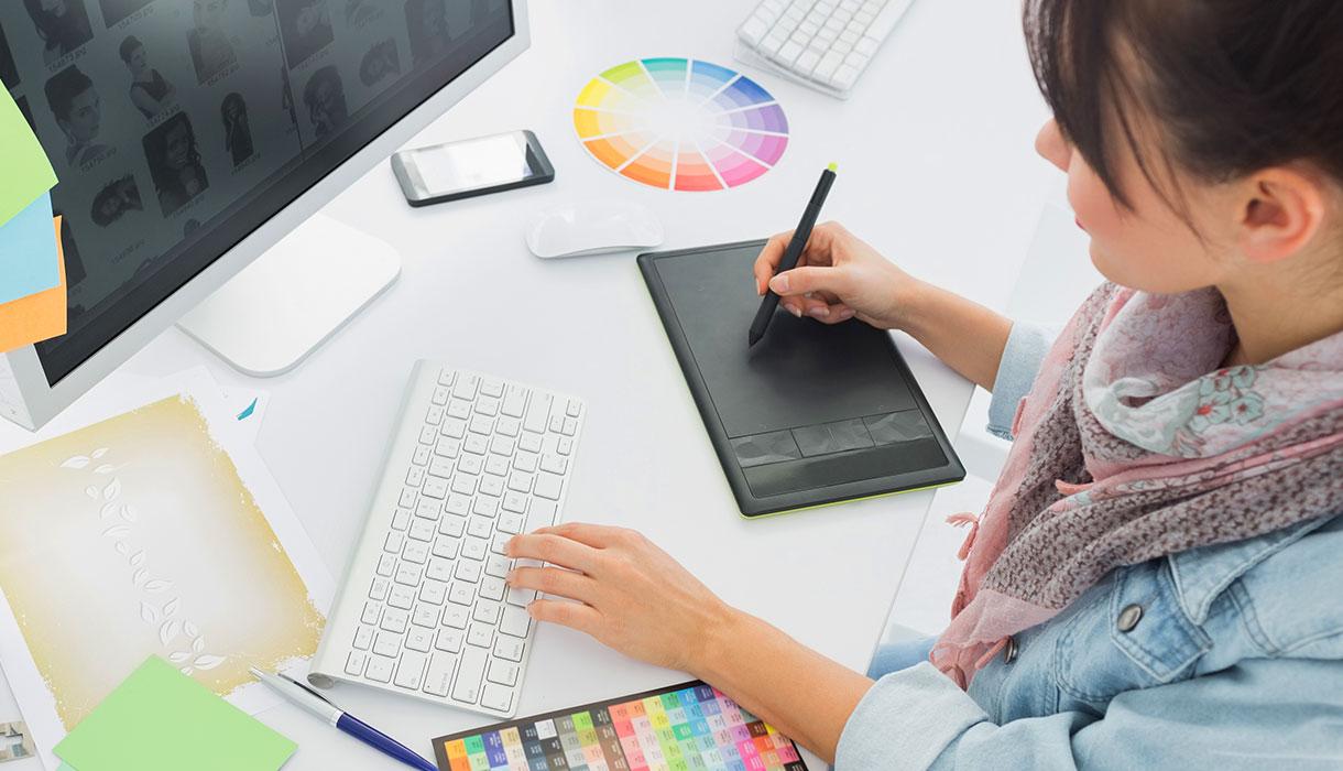 デザイン×Webサイト制作 のイメージ
